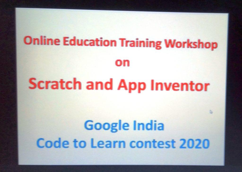 Scratch & App inventor Workshop A
