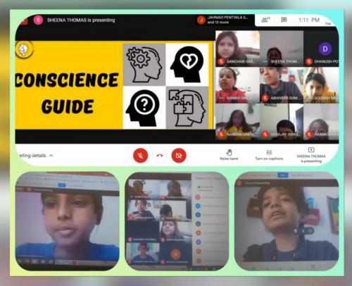 English Language Enhancement Activity – 'Conscience Guide'