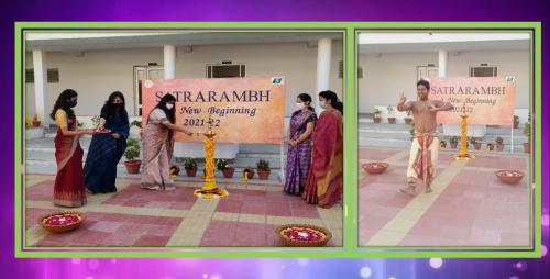 'Satrarambh' (Special Welcome Assembly)